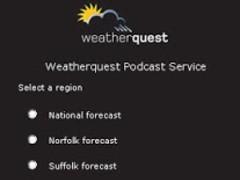 Weatherquest Podcast 1.3 Screenshot