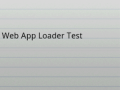 Web App Loader 1.4.2 Screenshot