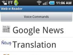 Web Reader & Translator 1.0.61 Screenshot