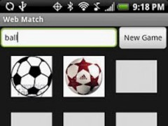 Web Match Game (Free) 1.0 Screenshot