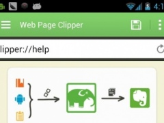 Web Page Clipper for Evernote 4.0 Screenshot