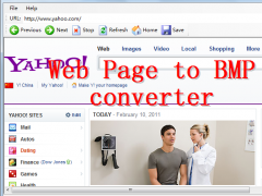 Web Page To BMP Converter 4.1 Screenshot