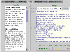 Web Site Robot 2.4 Screenshot
