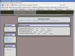Web Wrench/DOOM CMS 1.2 Screenshot