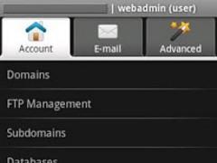 WebAdmin Mobile Lite 0.5 Screenshot