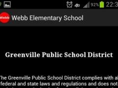 Webb Elementary School 1.1 Screenshot