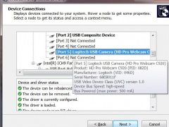 Webcam Diagnostics 1.11 Screenshot