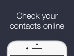 WebCheck - Check your contacts 1.2 Screenshot