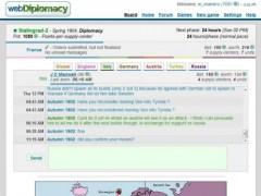 webDiplomacy 1.00 Screenshot