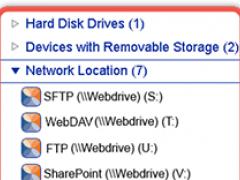WebDrive 11.0 Screenshot