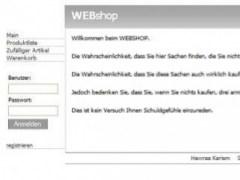 webshop-mihast 0.1 Screenshot