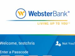 Webster Bank® Mobile 5.0.6 Screenshot