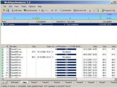 WebSynchronizer 1.5 Screenshot