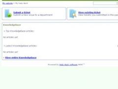 Webuzo for HESK 2.5.3 Screenshot