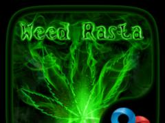 Weed Rasta GO Launcher Theme 3.3.0 Screenshot