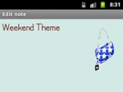 Weekend Theme 1.0.0 Screenshot