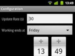 WeekendCounter Widget 1.0 Screenshot