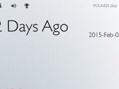 Weigh Yourself: A Daily Weight Tracker (Full Version) 1.0.2 Screenshot