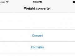 Weight converter free 1.2 Screenshot