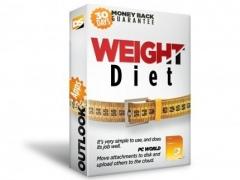 Weight Diet for Outlook 1.0.82 Screenshot