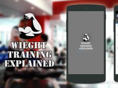 Weight Training Explained 1.0 Screenshot