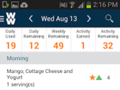 Weight Watchers® Canada Mobile 3.2.1.70 Screenshot