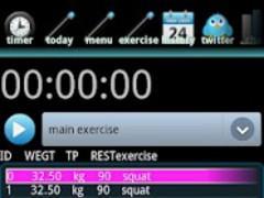 WeightTrainingTimer 1.9 Screenshot