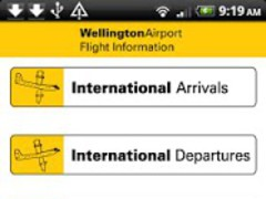 Wellington Airport Flight Info 1.3 Screenshot