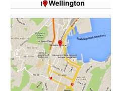 Wellington Map 0.0.7 Screenshot