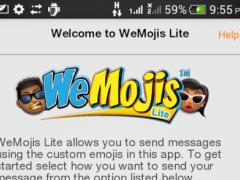 WeMojis Lite 1.2 Screenshot