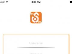 WeSafe 1.4 Screenshot