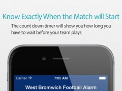 West Bromwich Football Alarm — News, live commentary, standings and more for your team! 2.0 Screenshot