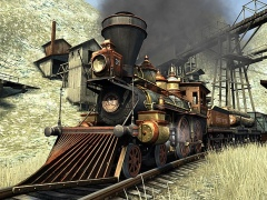 Western Railway 3D Screensaver 1.0 Screenshot