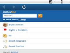 WestlawNext 1.1 Screenshot