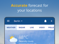 Review Screenshot - Weather App – Get Weather Updates From All Over the World