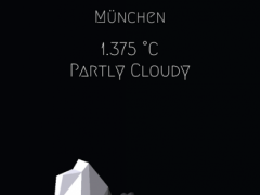 Wetter 1.0 Screenshot