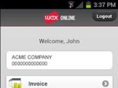 WEXonline 2.0.1 Screenshot