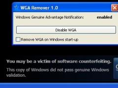 WGA Remover 1.0 Screenshot