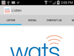 WGTS 91.9 1.9.0 Screenshot