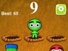 Whack A Jumpy Ninja Warrior  Screenshot