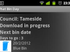What Bin Day Fife 1.1 Screenshot