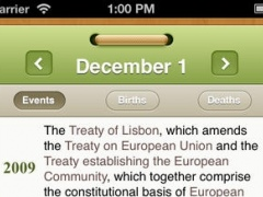 What happened on this day? Historical events and famous birthdays calendar 1.1 Screenshot