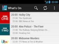 What's On - UK TV Guide 1.1.1 Screenshot