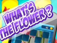 What's The Flower Icon Pop Quiz - Cute Word Guessing English Learning Puzzle Game For Kids FREE 1.0 Screenshot