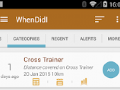 WhenDidI - Event Tracker 3.4.0 Screenshot