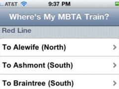 Where's my MBTA T? 1.0 Screenshot