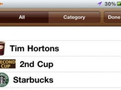 Where Z Timmy ( Find Tim Hortons Coffee shops, ATM, Beer Stores & Gas stations) 2.2.2 Screenshot