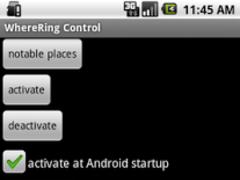 WhereRing 1.99.0 Screenshot