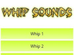 Whip Sounds soundboard 1.3 Screenshot