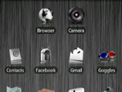 White ADW Theme 1.8 Screenshot